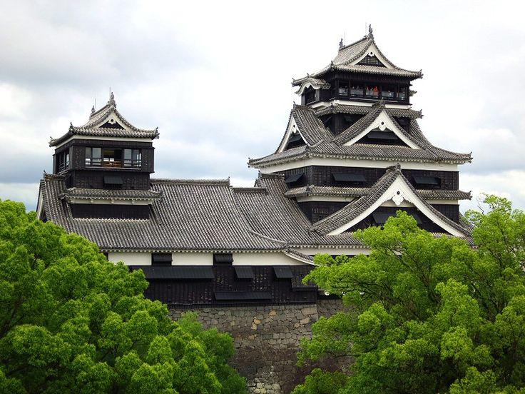 Kumamoto-castle, Kumamoto, Japan