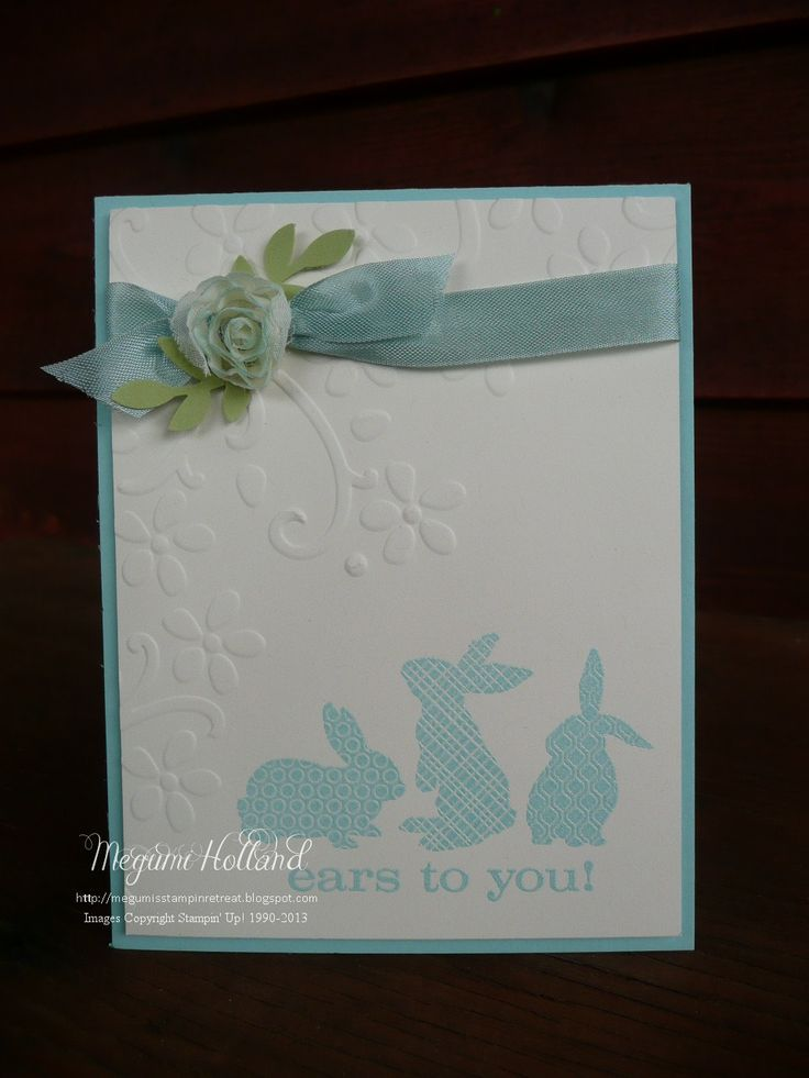 244 best images about Stampin up Easter cards – Easter Cards Stampin Up