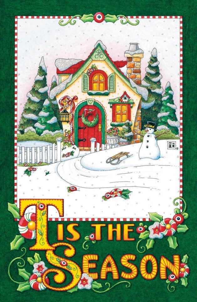 Tis the Season by Mary Engelbreit | Art I enjoy | Pinterest | Mary ...