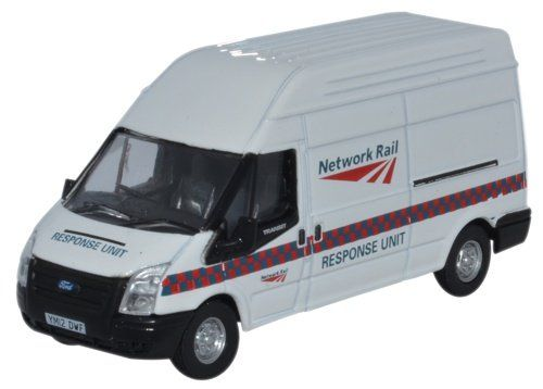 From 3.99 Oxford Diecast 76ft022 Ford Transit Lwb High Network Rail Response Unit