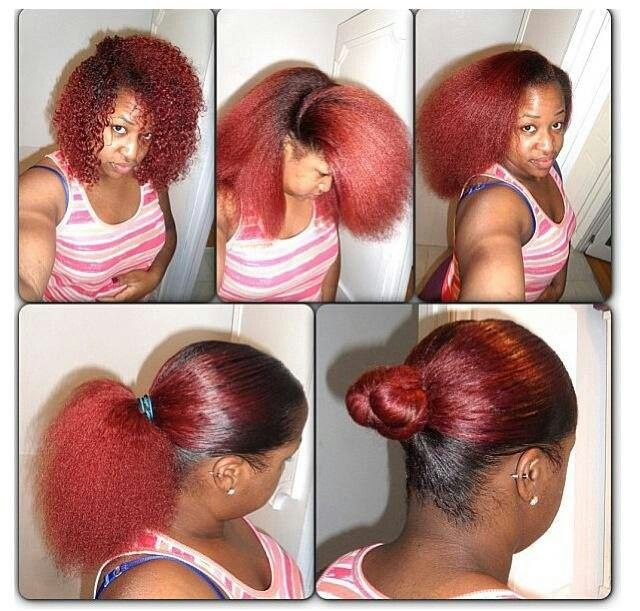 Love The Color Just Wanna Know How She Makes Her Hair