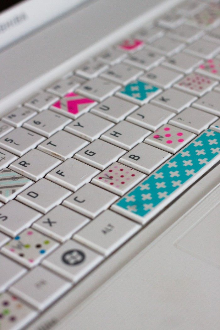 Washi tape clavier                                                                                                                                                                                 More