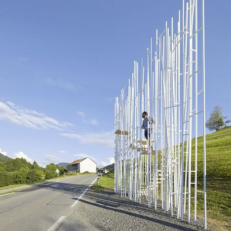 "The bus stop created by Japanese architect Sou Fujimoto in Austria has been closed because it doesn't ""follow the Austrian regulations for building safety""."