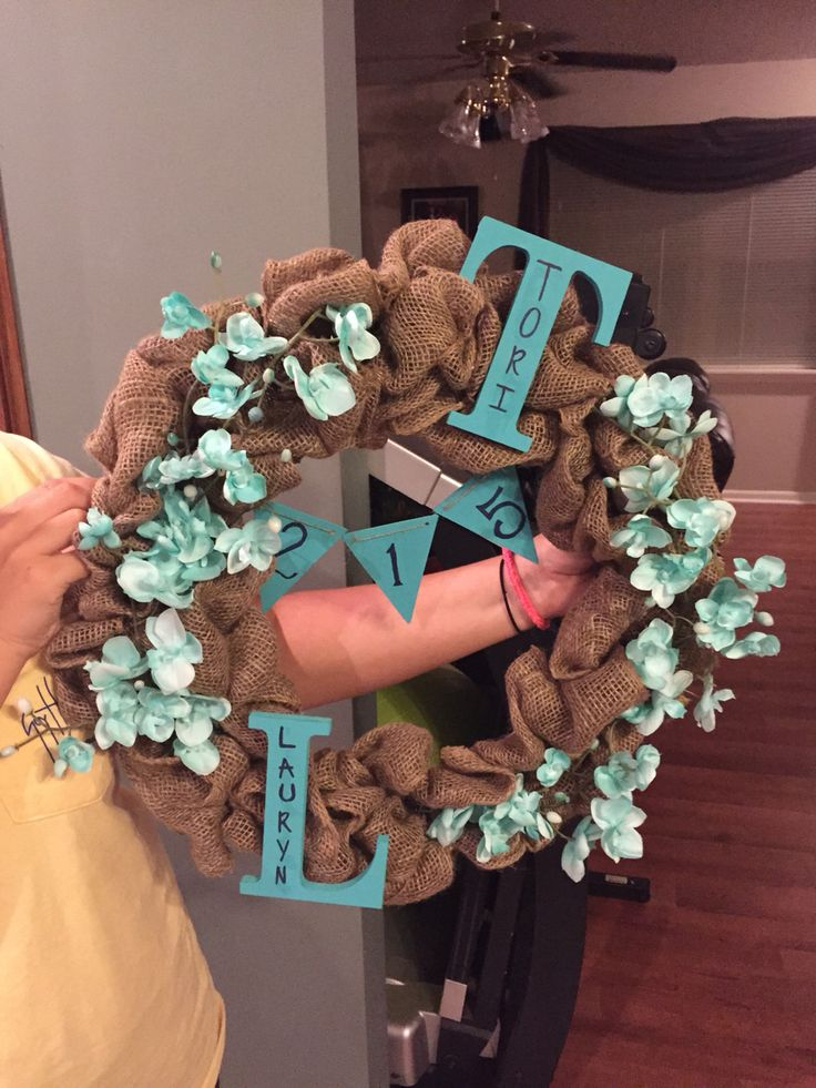 Dorm Wreath.                                                                                                                                                                                 More