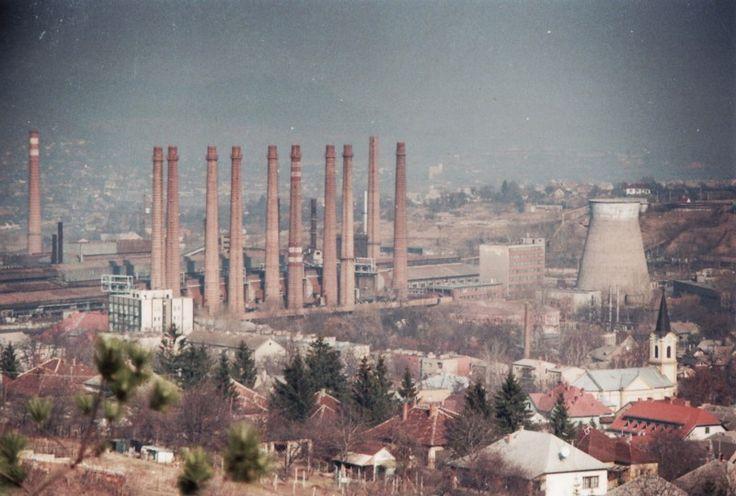 Vasgyári épületek – ipari táj
