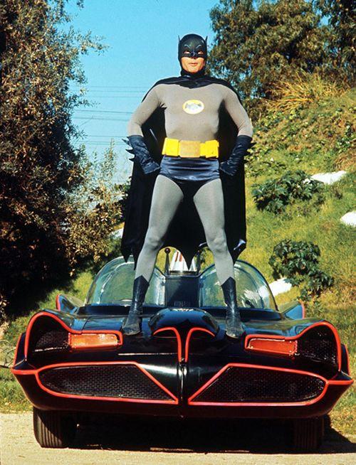 Adam West as Batman!