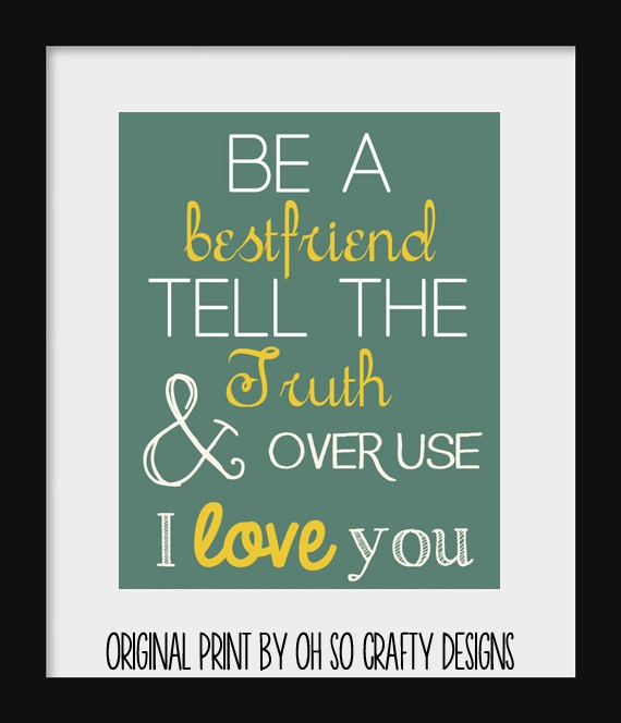 Typography Print  Country Music Lyric Word by OhSoCraftyDesigns, $12.00