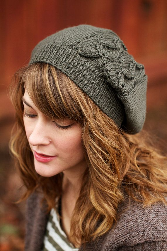 Laurelwood Slouchy Beanie PDF Pattern by ChelseaAnneDesign on Etsy, $4.99