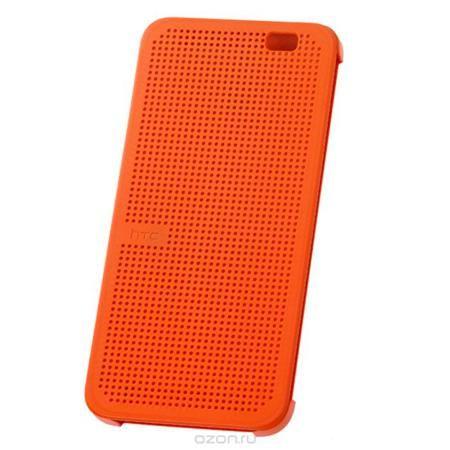 HTC Dot View HC M100 чехол для One 2 (M8), Orange  — 1269 руб. —  Стильный чехол HTC Dot View HC M100 для One 2 (M8) обеспечивает одновременно и защиту телефона, и управление им даже при закрытой передней крышке. В отличие от сплошной поверхности со всех остальных сторон, передняя крышка имеет множество отверстий, благодаря чему даже не открывая ее можно получать уведомления о новых сообщениях электронной почты, напоминаниях календаря, прогноз погоды и т.п. Оцените преимущество новых…