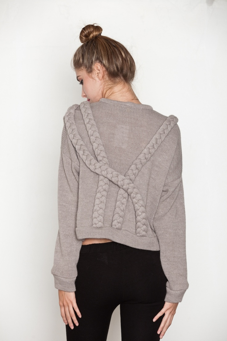 eve gravel sweater