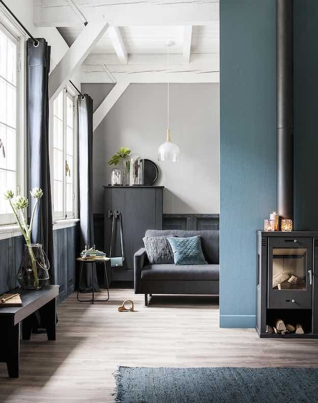 Scandinavian   Blue Living Room Ideas: 21 Ways To Use This Versatile Color