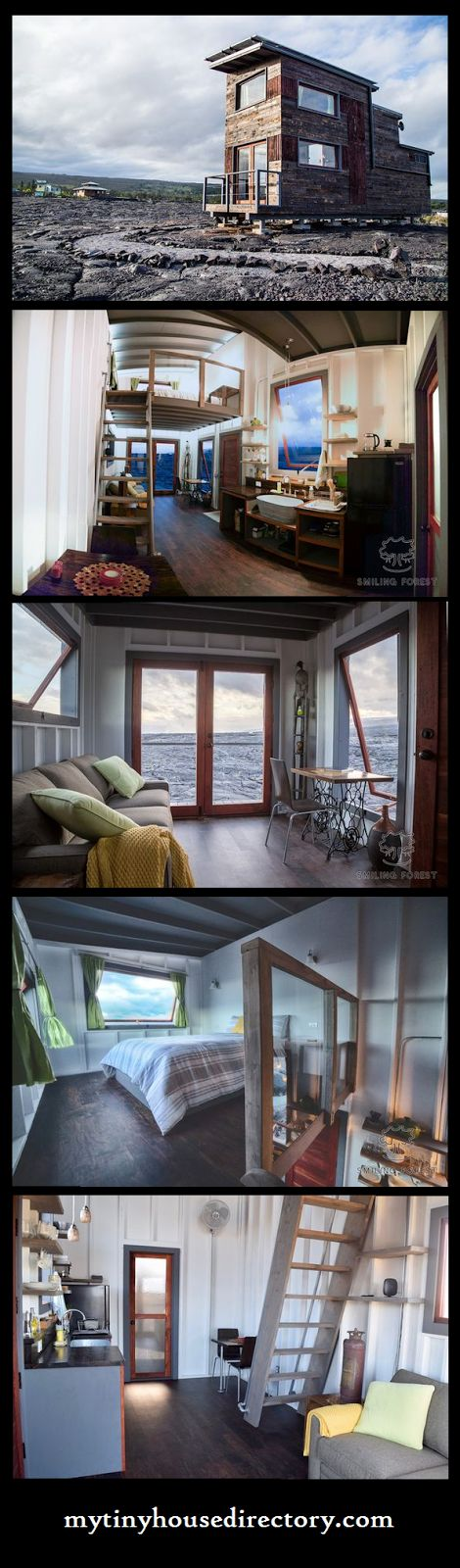 Simplicity and Elegance in a Tiny Home at the base of a volcano!