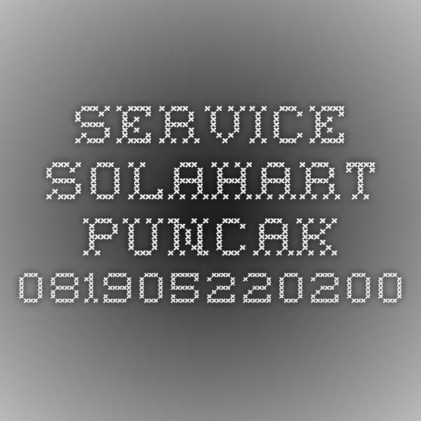 Service Solahart Puncak-081905220200