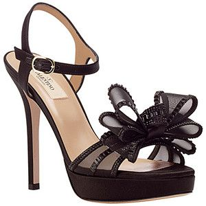 valentino rhinestone ribbon heel  ribbon heels shoes