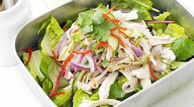 Asian Chicken Salad, Resep Masakan Sehat untuk Makan Siang http://bit.ly/1qp2CSX