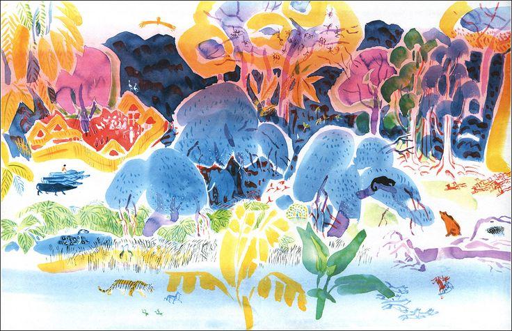 Rudyard KIPLING. Mowgli.  Illustrator May Miturich-Khlebnikov, 2005.
