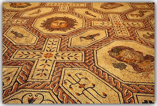 30 best mosaicos images on pinterest mosaic art mosaics for Mosaico romano