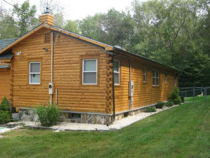 1000 Images About Vinyl Sided Home Converted To Log