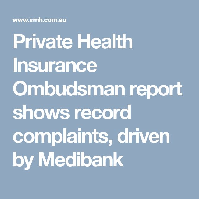 Private Health Insurance Ombudsman report shows record complaints, driven by Medibank