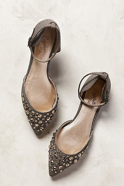 glamorous jeweled ankle strap flats on sale for $79.95 http://rstyle.me/n/vfejrr9te