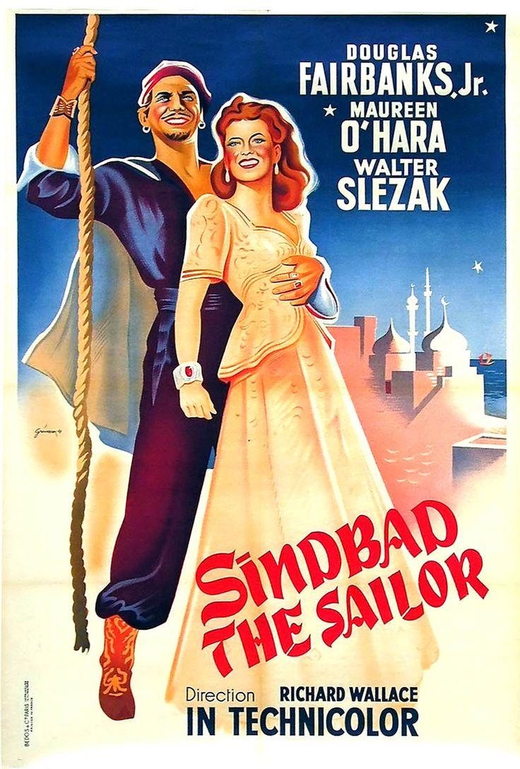 Simbad El Marino (Sinbad The Sailor), de Richard Wallace, 1947