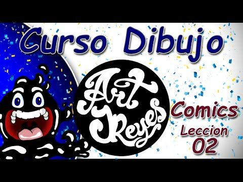 Curso Dibujo Art JReyes Comics 02 - YouTube