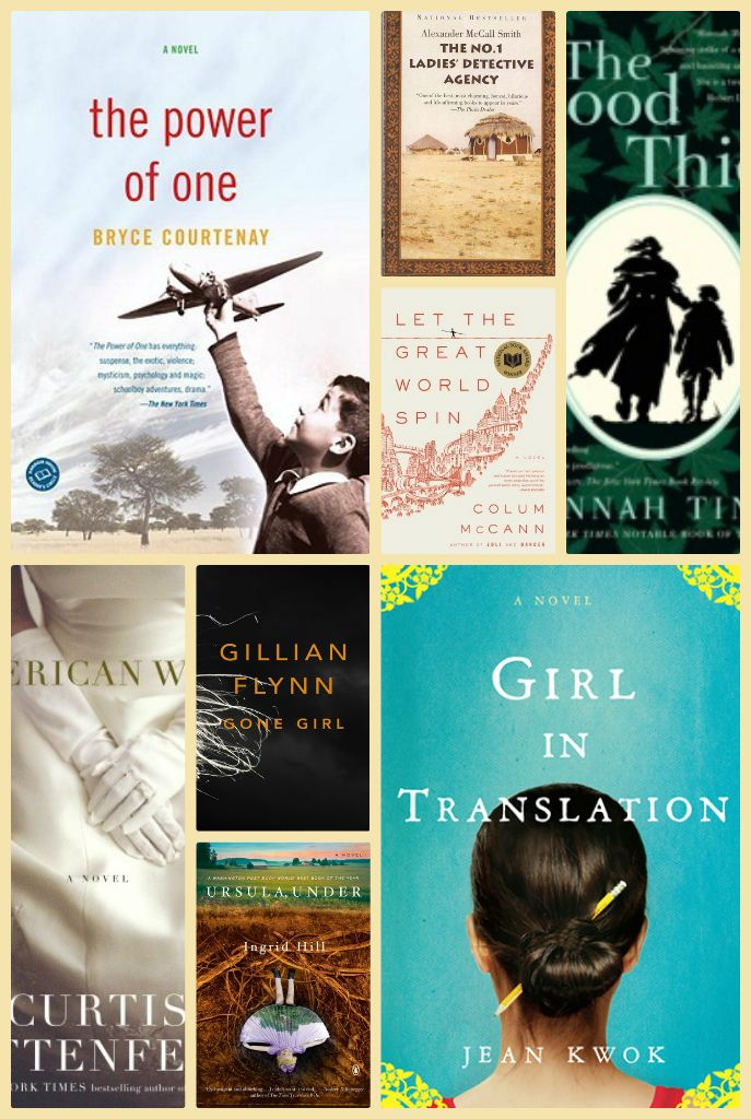 82 Book Club Books to read.