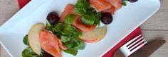 Kerst voorgerecht tip zalm   Appel   Rode Biet -Uit Paulines Keuken
