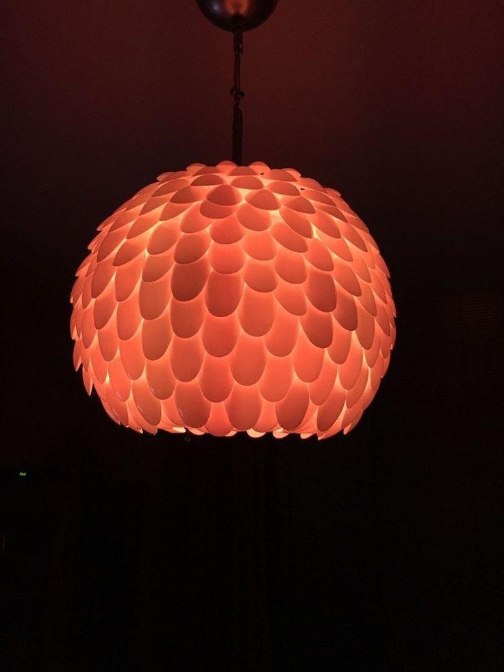 Best 25 Plastic Spoon Lamp Ideas On Pinterest Spoon