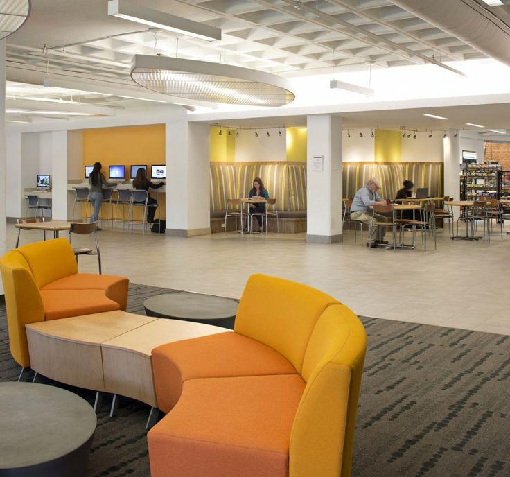 Furniture :  Westfield State New University Hall / ADD Inc.