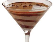 Receta de Chocolate Martini.