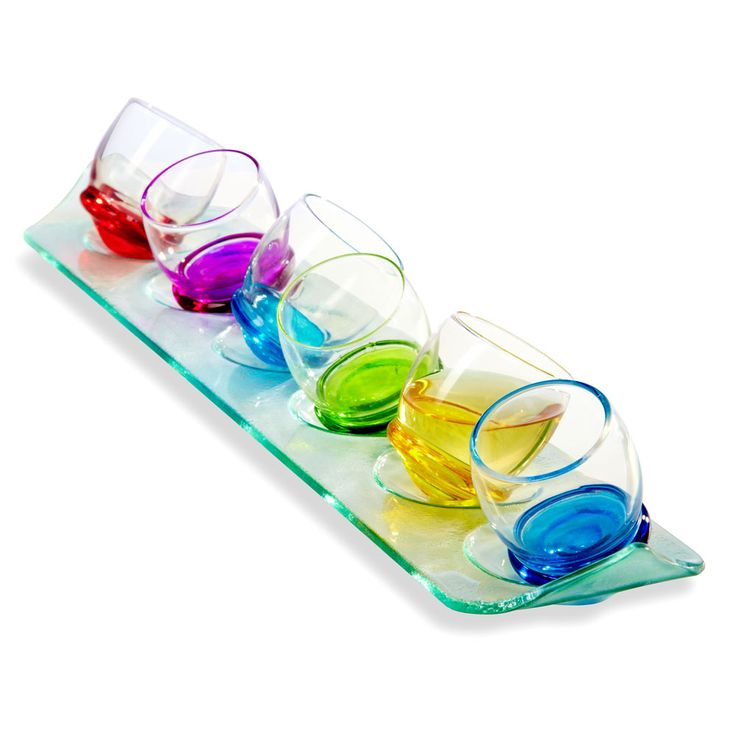 Rocking Cone Bottom Drinking Glasses