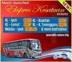 Bus Operator Kesatuan Express Joins BusOnlineTicket.com Supplying Service from Kuala Lumpur to Lumut and Bus from Kuala Lumpur to Kuala Terengganu - http://malaysiamegatravel.com/bus-operator-kesatuan-express-joins-busonlineticket-com-supplying-service-from-kuala-lumpur-to-lumut-and-bus-from-kuala-lumpur-to-kuala-terengganu/