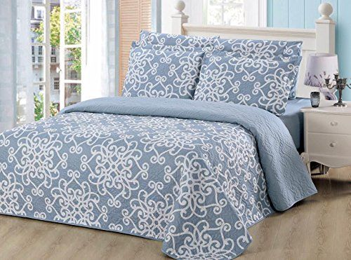 [$44.62 save 16%] #LightningDeal 60% claimed: Dream Bedding 6 Pc's Geometric Damask Pattern Queen Sized Quilt Set http://www.lavahotdeals.com/ca/cheap/lightningdeal-60-claimed-dream-bedding-6-pcs-geometric/220593?utm_source=pinterest&utm_medium=rss&utm_campaign=at_lavahotdeals