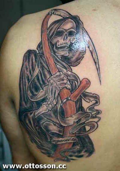 Skull Tattoo # 34