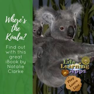 Visit our bio for more details of where to download this great app and book  lifelearningapps koala koalas wildlifewarriors Australia