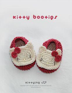 Little Kitty Booties Crochet