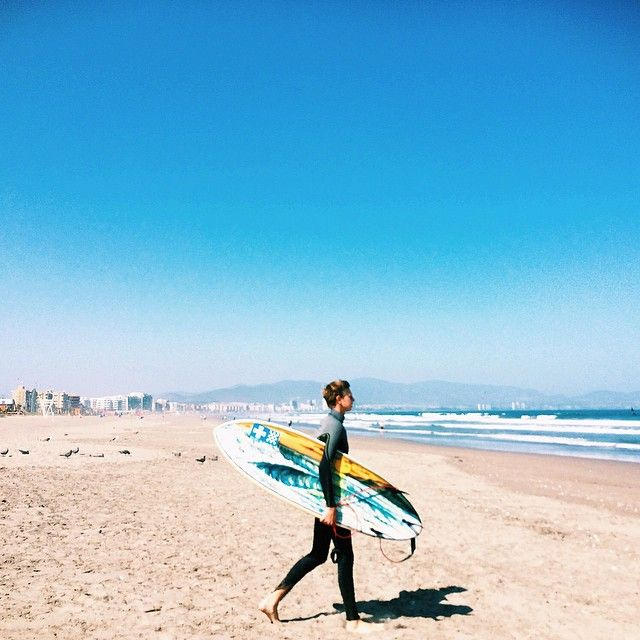 """Saturday morning surf. #laserena #chile #surfchile"""