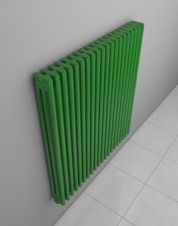 AQUA III.: The elegant column radiator is made of steel segments. Popular at reconstructions of flats or houses. Single segments consist of tubes, whose number is given in the name of the radiator. A wide variety of paint finishes. Delivery: 6 weeks.