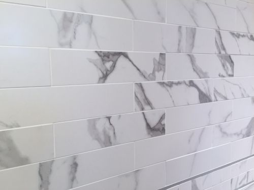 3 X 12 Vallelunga Statuario Lappato Porcelain Subway Tile Subway Tile Tile Floor Subway