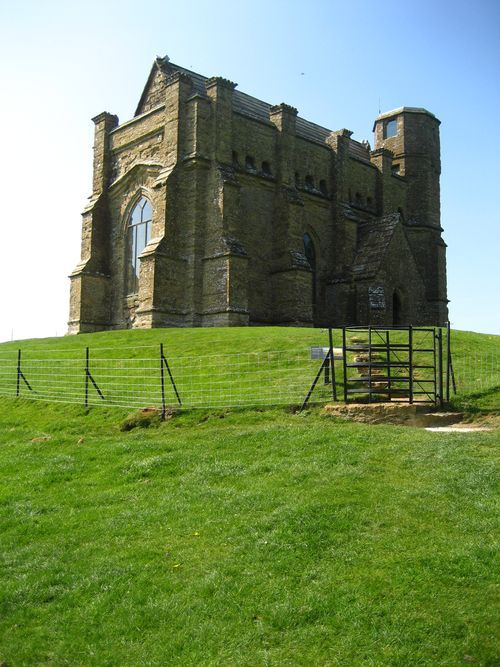 St. Catherine's Chapel ruin is situated on a hill above the village of Abbotsbury in Dorset, England and is dedicated to Saint Catherine. Built in the 14th century, it is now in the guardianship of English Heritage.