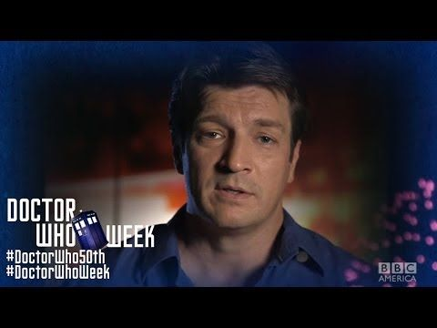 NATHAN FILLION, CHRIS HARDWICK, WILLIAM SHATNER & More: Happy 50th Anniversary, Doctor Who! - YouTube
