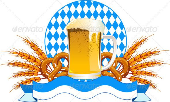 Invitation Oktoberfest Royalty Free Clip Art