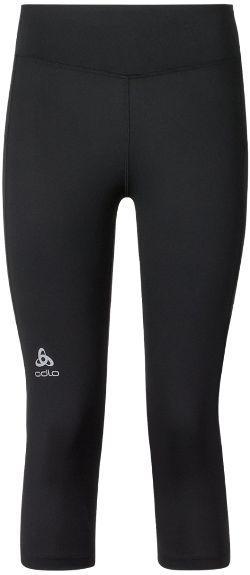 Odlo Women's Sliq 3/4 Running Tights Black XS