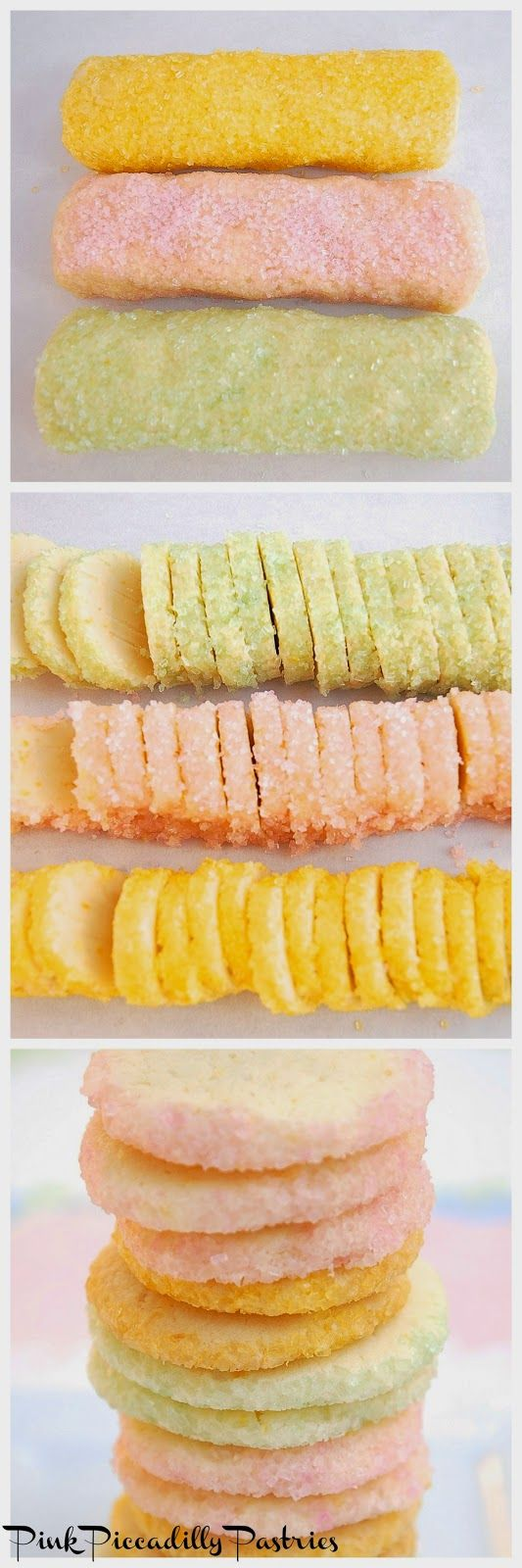 This weekend I tried Martha Stewart's  Lemon Icebox Cookies Recipe.      They were sooo good - light, lemony, buttery good!!    I cou...