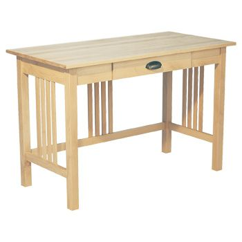 Mission Style Alder Desk By The Whittier Wood Products Company At Crafted Furniture Anchorage
