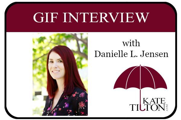 Enjoy this gif interview with author Danielle L. Jensen! :)