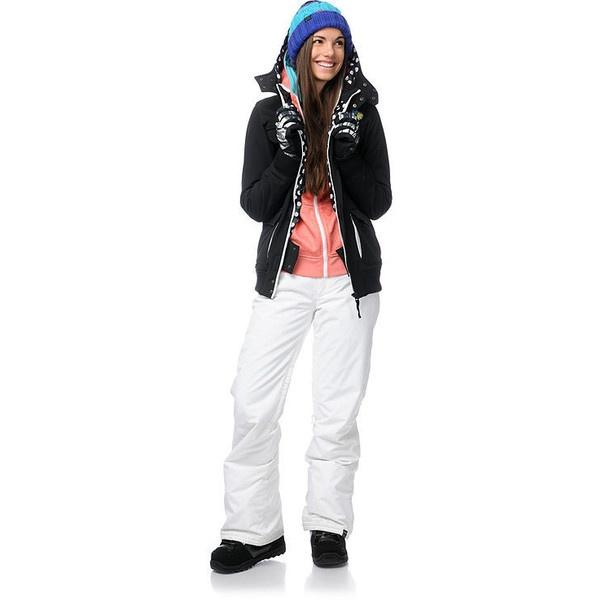 wonderful ski outfit black jacket 9