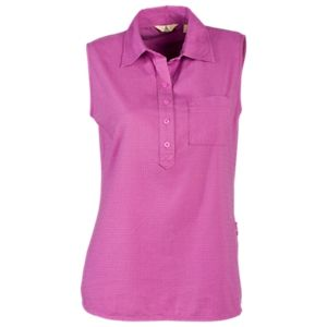 Ascend Sleeveless Polo Shirt for Ladies …