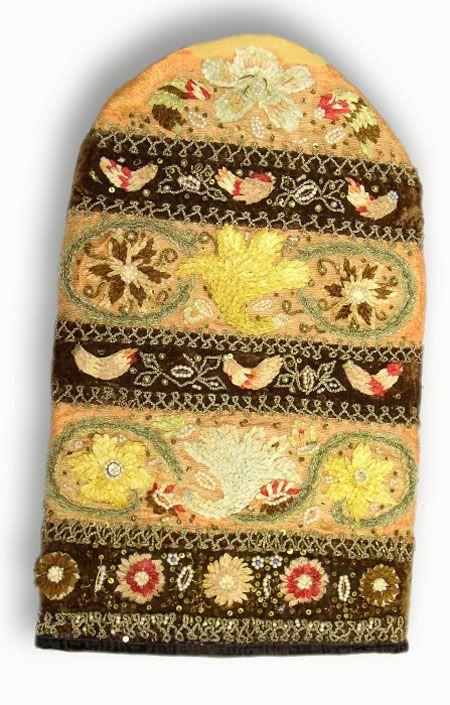 Убор головной женский - калфак.  Фото Е. Караванова